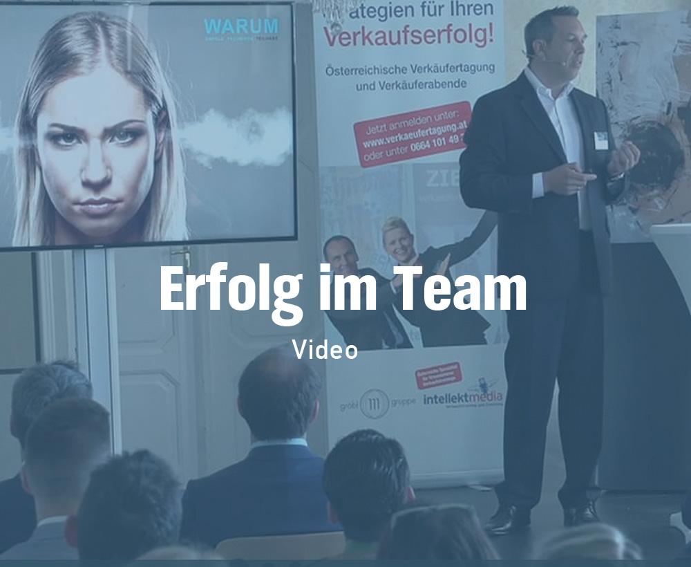 Erfolg im Team Video
