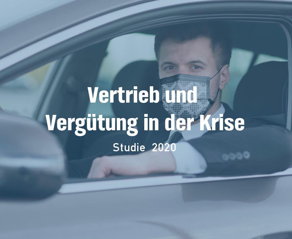 Studie 2020 - Vertrieb und Vergütung in der Krise